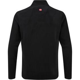 Sherpa Rolpa Camiseta Cremallera Hombre, negro
